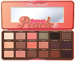 Profumi e cosmetici Palette ombretti - Too Faced Sweet Peach Eye Shadow Collection