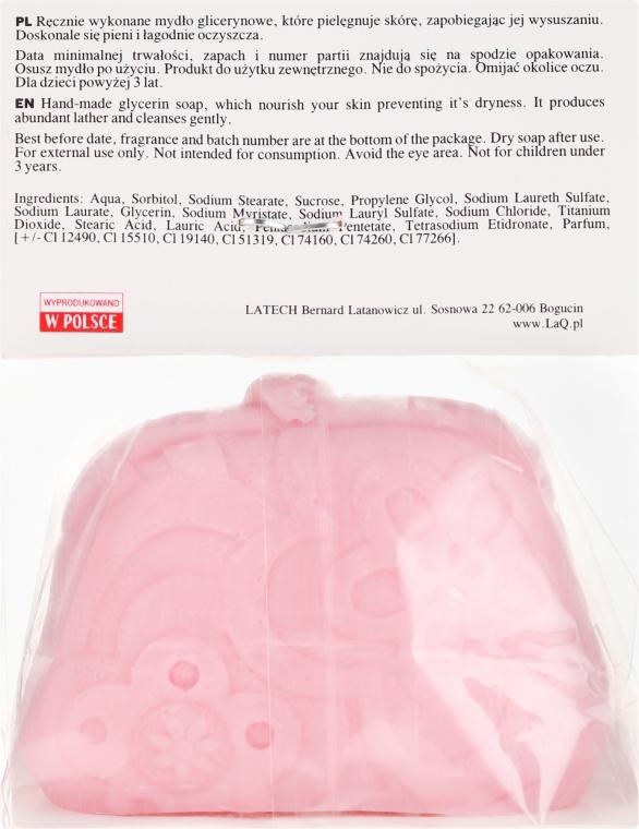 """Sapone naturale fatto a mano """"Borsa"""" con aroma di ciliegia - LaQ Happy Soaps Natural Soap — foto N2"""