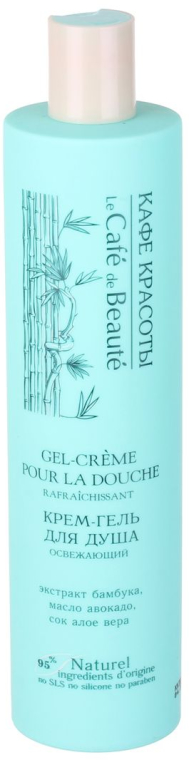 "Gel-crema doccia ""Rinfrescante"" - Le Cafe de Beaute Refreshing Cream Shower Gel"
