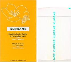 Profumi e cosmetici Strisce depilatorie per le gambe - Klorane Cold Wax Strips