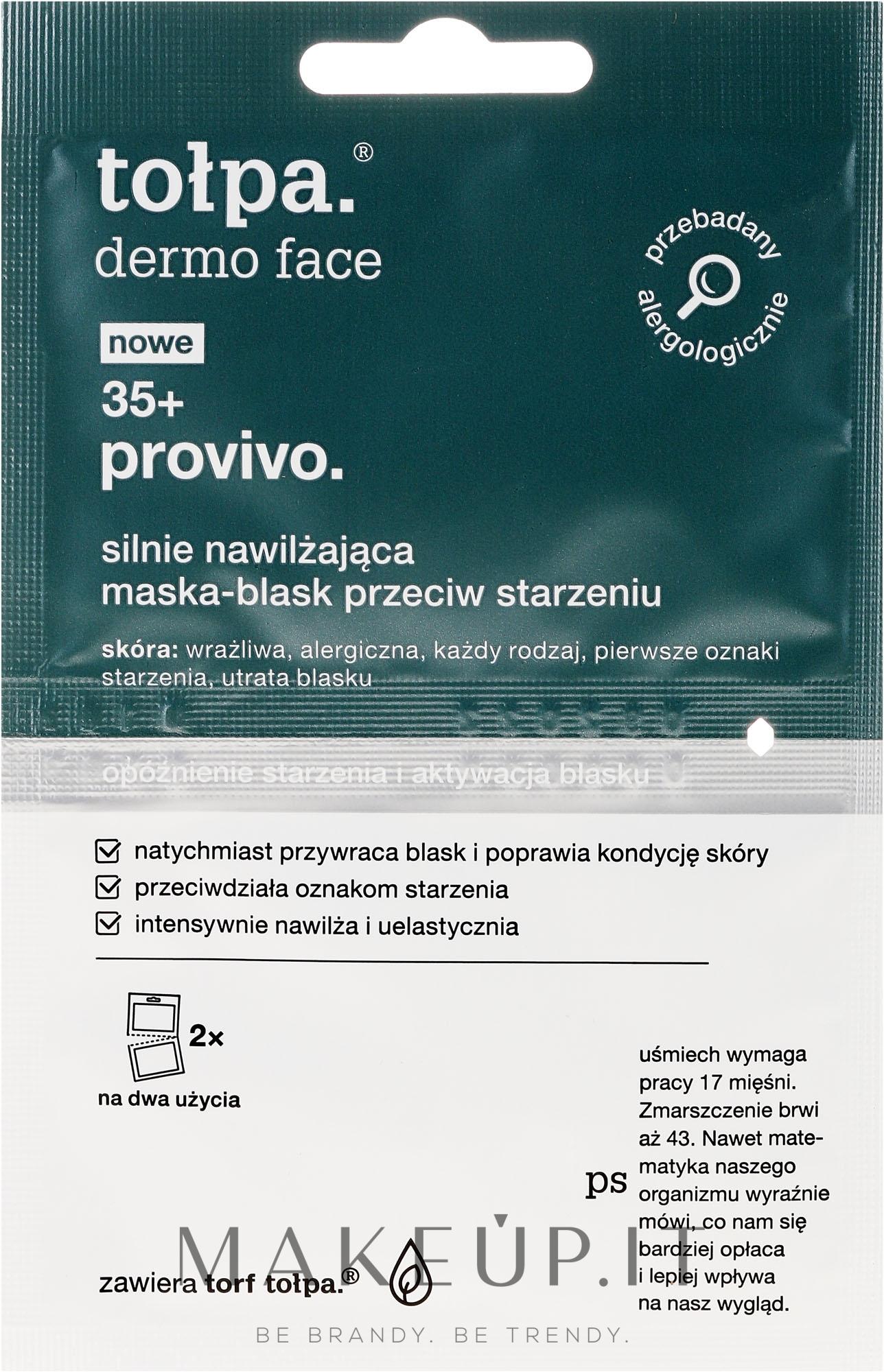 Maschera viso - Tolpa Dermo Face Provivo 35+ Mask — foto 2 x 6 ml