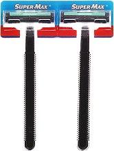 Profumi e cosmetici Set rasoi monouso, 48pz - Super-Max Long Handle 2