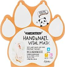 Profumi e cosmetici Maschera vitaminica per mani e unghie - Esfolio Hand & Nail Vital Mask