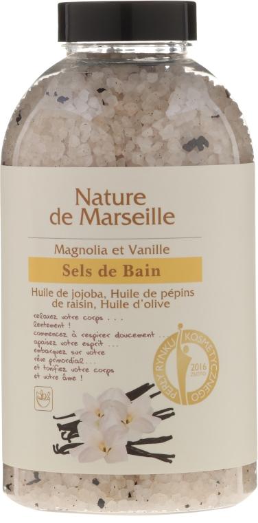 Sale da bagno alla magnolia e vaniglia - Nature de Marseille