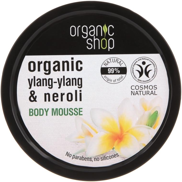 "Mousse corpo ""Fiore balinese"" - Organic Shop Organic Ylang-Ylang & Neroli Body Mousse"