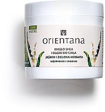"Profumi e cosmetici Burro corpo ""Gelsomino e tè verde"" - Orientana Rich Body Butter Jasmine & Green Tea"