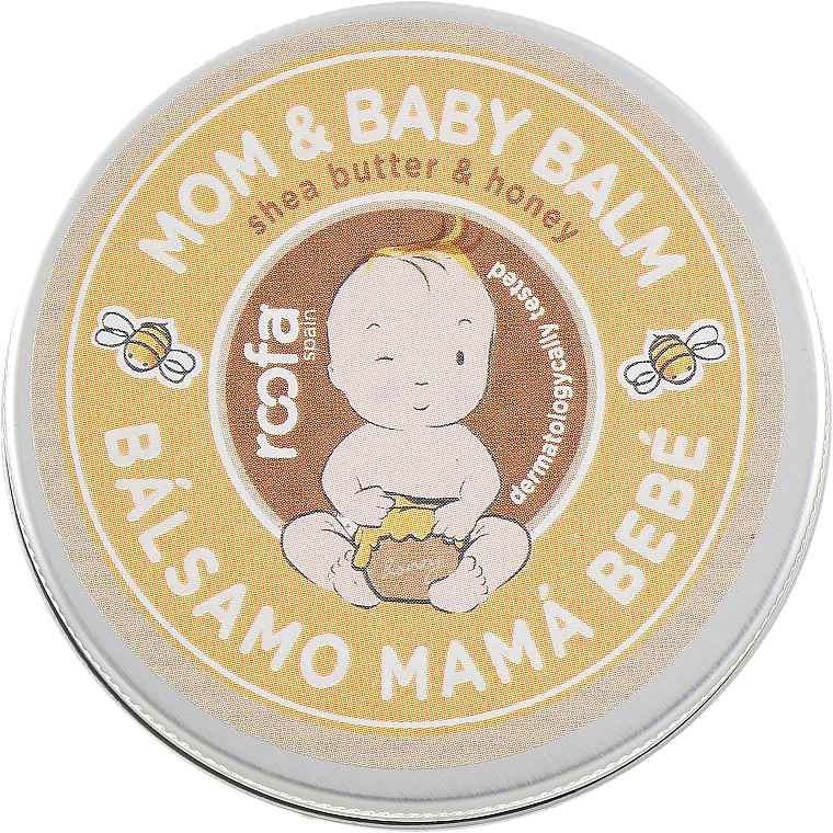 "Balsamo per mamma e bambino ""Burro di karitè e miele"" - Roofa Shea Butter & Honey Mom & Baby Balm"