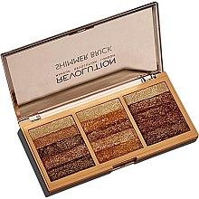 Profumi e cosmetici Palette scintillante - Makeup Revolution Shimmer Brick Palette