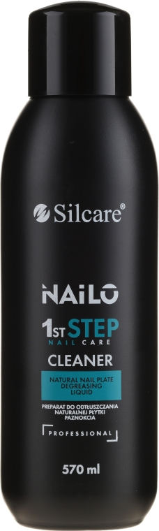 Sgrassante per unghie - Silcare Nailo 1st Step Nail Cleaner