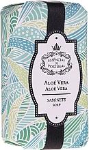 Profumi e cosmetici Sapone naturale - Essencias De Portugal Natura Aloe Vera Soap