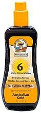 Profumi e cosmetici Olio spray abbronzante - Australian Gold Tea Tree&Carrot Oils Spray SPF6