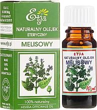 Profumi e cosmetici Olio essenziale naturale di melissa - Etja Natural Essential Oil