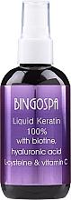Profumi e cosmetici Cheratina liquida per capelli - Bingospa Liquid 100% Keratin with Biotine