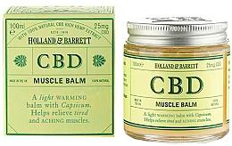 Profumi e cosmetici Balsamo corpo - Holland & Barrett CBD Muscle Balm