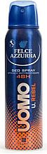 Profumi e cosmetici Deodorante antitraspirante - Felce Azzurra Deo Rebel