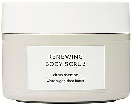 Profumi e cosmetici Scrub corpo rigenerante - Estelle & Thild Citrus Menthe Renewing Body Scrub