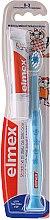 Profumi e cosmetici Spazzolino da denti per bambini (0-3 anni), blu con giraffa - Elmex Learn Toothbrush Soft + Toothpaste 12ml