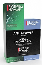 Profumi e cosmetici Set - Biotherm Homme Aquapower Set (aftersh/gel/75ml + aftersh/gel/30ml)
