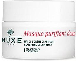 Profumi e cosmetici Crema-maschera purificante con petali di rosa per il viso e collo - Nuxe Clarifying Cream-Mask With Rose Petals