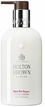 Profumi e cosmetici Molton Brown Fiery Pink Pepper - Lozione mani
