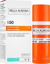 Profumi e cosmetici Crema solare per pelli grasse - Bella Aurora Sunscreen Gel Oily Skin SPF50+