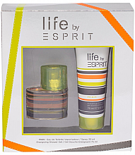 Profumi e cosmetici Esprit Life by Esprit Men - Set (Edt/30ml+sh/gel/75ml)