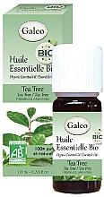Profumi e cosmetici Olio essenziale di tea tree - Galeo Organic Essential Oil Tea Tree