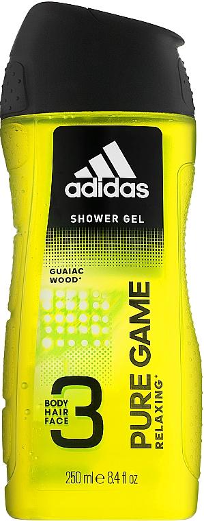 Gel doccia - Adidas Pure Game Hair & Body Shower Gel