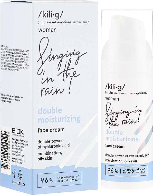 Crema viso idratante - Kili·g Woman Double Moisturizing Cream