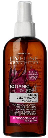 Olio corpo intensamente rassodante - Eveline Cosmetics Botanic Expert