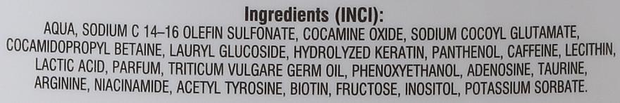Shampoo anticaduta - Bione Cosmetics SOS Shampoo with Anti Hair Loss Ingredients — foto N3