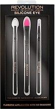 Set di pennelli in silicone per trucco occhi - Makeup Revolution Silicone Eye Set — foto N1
