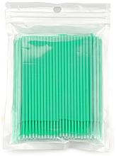 Profumi e cosmetici Pennelli micro ciglia, verde - Novalia Group