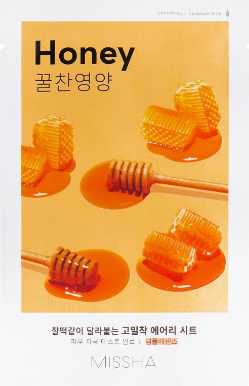 Maschera nutriente in tessuto - Missha Airy Fit Sheet Mask Honey