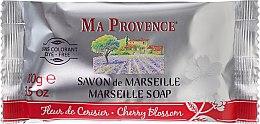 """Profumi e cosmetici Sapone solido Marsiglia """"Fiori di ciliegio"""" - Ma Provence Marseille Soap Cherry Blossom"""