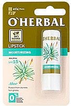 Profumi e cosmetici Rossetto idratante con estratto di aloe - O'Herbal Moisturizing Lipstick With Aloe Vera extract SPF15
