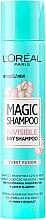 Profumi e cosmetici Shampoo secco per capelli - L'Oreal Paris Magic Shampoo Invisible Dry Shampoo Sweet Fusion