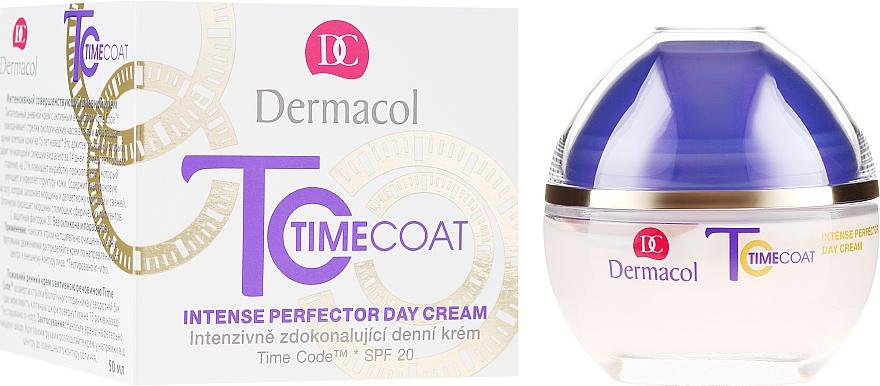 Crema viso, da giorno - Dermacol Time Coat Intense Perfector Day Cream SPF 20 — foto N1
