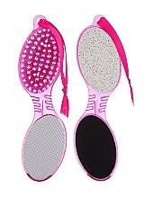 Spazzola e raspa piedi per pedicure, quadrilatera - Gabriella Salvete Tools 4 Way Pedicure — foto N2