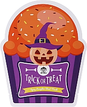 Profumi e cosmetici Maschera viso in tessuto - Dr Mola Trick Or Treat Spicy Pumpkin Sheet Mask