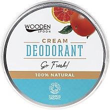 Profumi e cosmetici Deodorante-Crema - Wooden Spoon Go Fresh Cream Deodorant