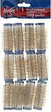 Profumi e cosmetici Bigodini 21/63 mm, blu - Ronney Wire Curlers
