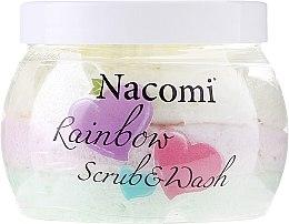 Profumi e cosmetici Scrub corpo, profumo di anguria - Nacomi Rainbow Scrub & Wash