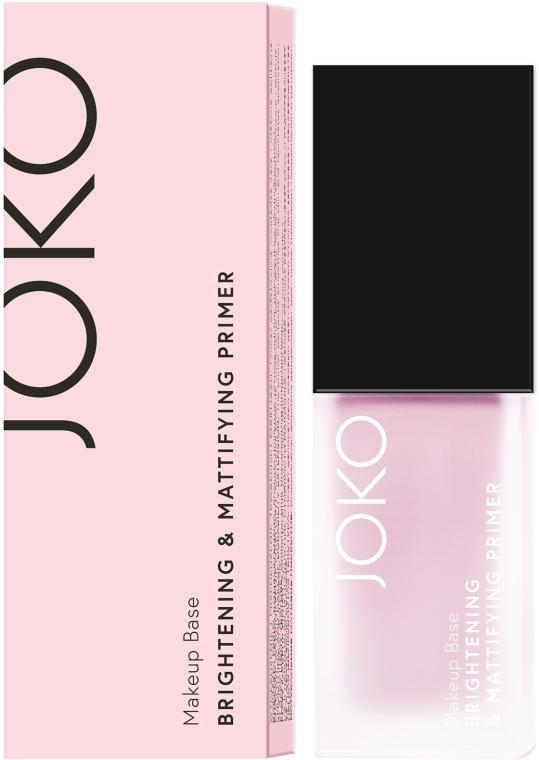 Primer trucco - Joko Brightening & Mattifying Primer