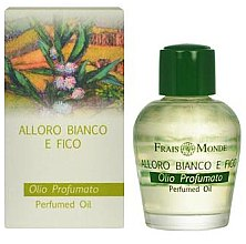Profumi e cosmetici Olio profumato - Frais Monde White Laurel And Fig Perfumed Oil