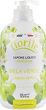 """Profumi e cosmetici Sapone liquido """"Mela Verde"""" - Parisienne Italia Fiorile Green Apple Liquid Soap"""