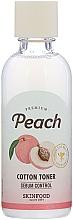 Profumi e cosmetici Tonico viso - Skinfood Premium Peach Cotton Toner