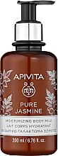 "Profumi e cosmetici Latte corpo idratante ""Gelsomino Naturale"" - Apivita Pure Jasmine Moisturizing Body Milk"