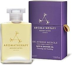 Profumi e cosmetici Olio doccia - Aromatherapy Associates De-Stress Muscle Bath & Shower Oil