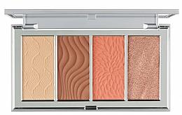 Profumi e cosmetici Palette contouring - PUR 4-In-1 Skin Perfecting Powders Face Palette